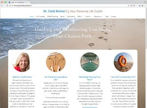 Life Coach Website