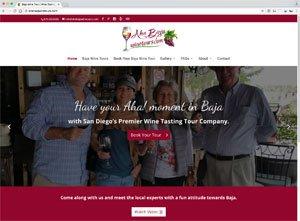 Wine Tour Website