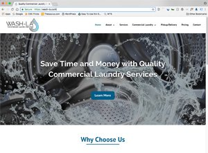 Commercial Laundry Service Website