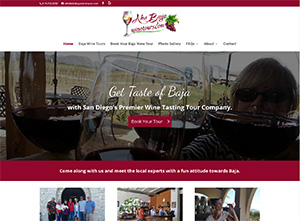 Wine Tour Website